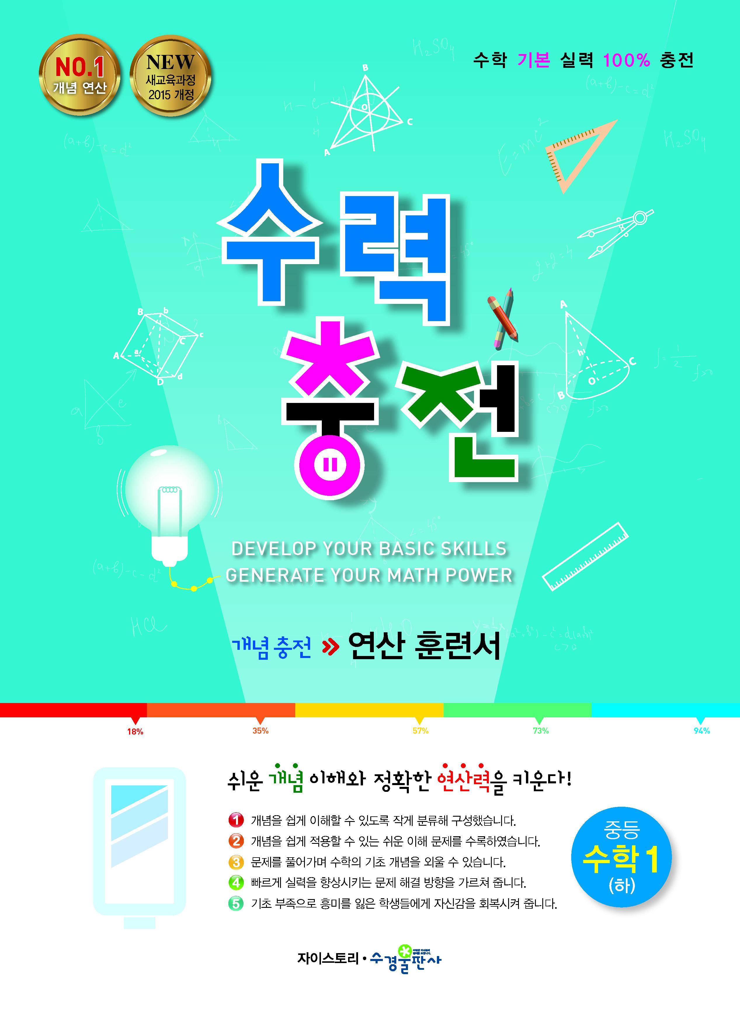 수력충전 중등 수학1 (하)[2015개정]